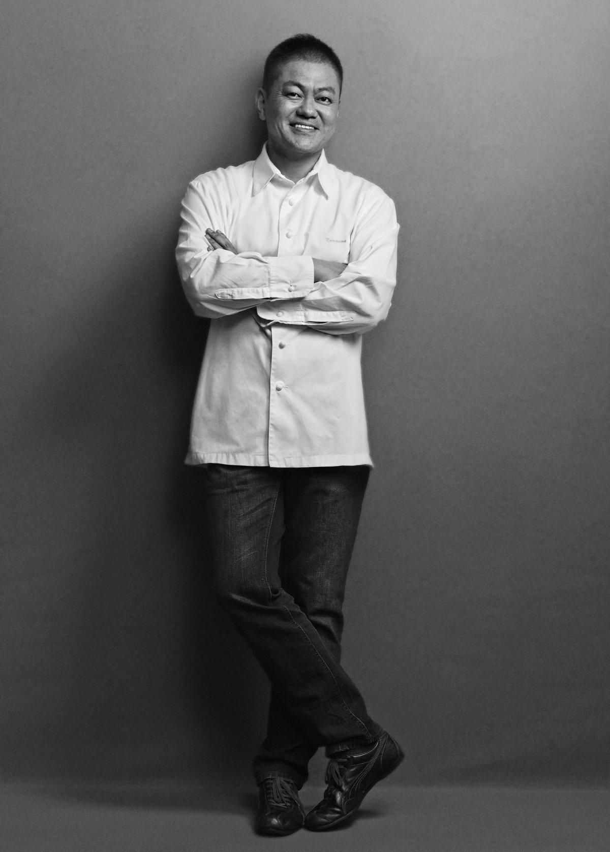 Retrato del cocinero Yoshihiro Narisawa