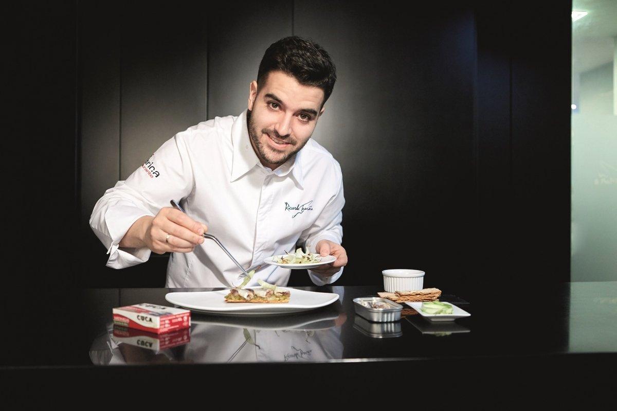 Ricardo Temiño, el cocinero que no quería ser chef