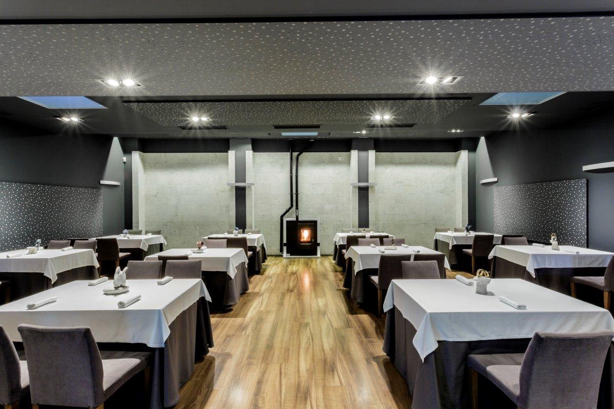 Sala de La Fábrica Restaurante