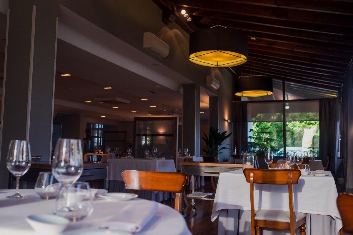 Sala del restaurante Alameda