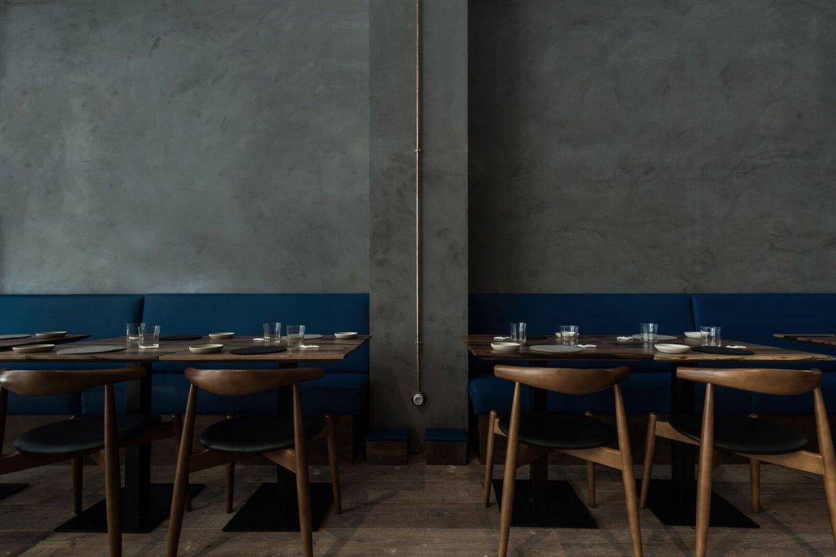 Sala del restaurante Amelia