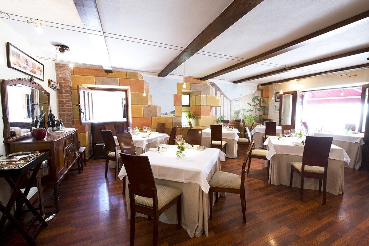 Sala del restaurante Arbidel