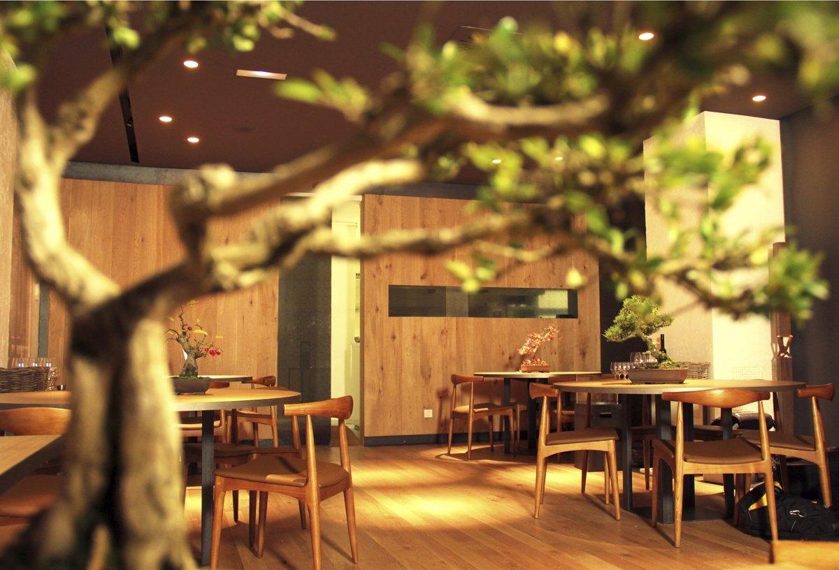 Sala del restaurante Árbore da Veira