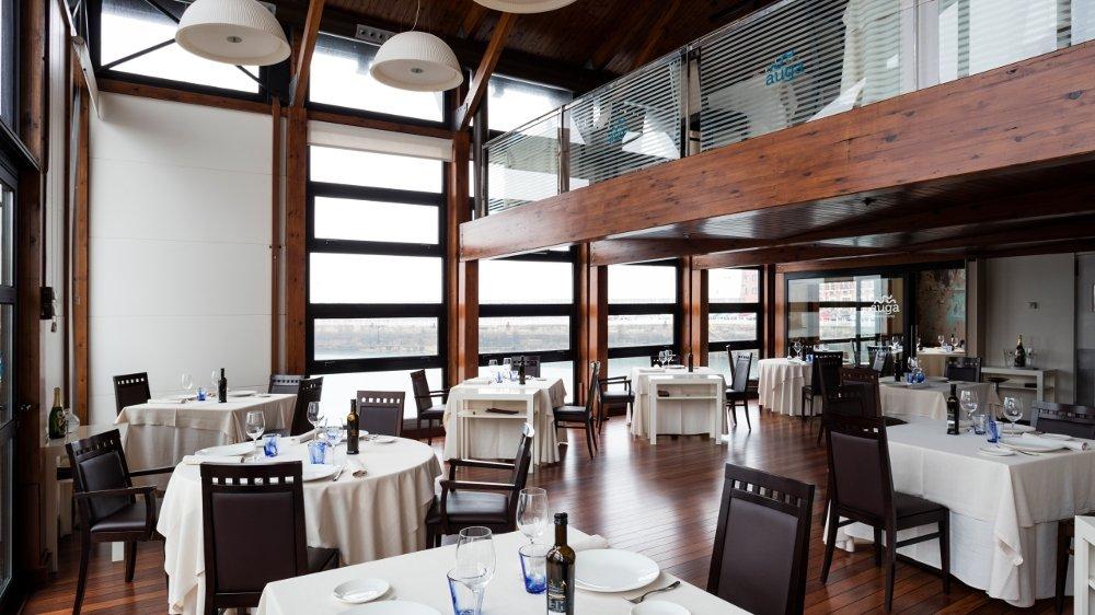 Sala del restaurante Auga