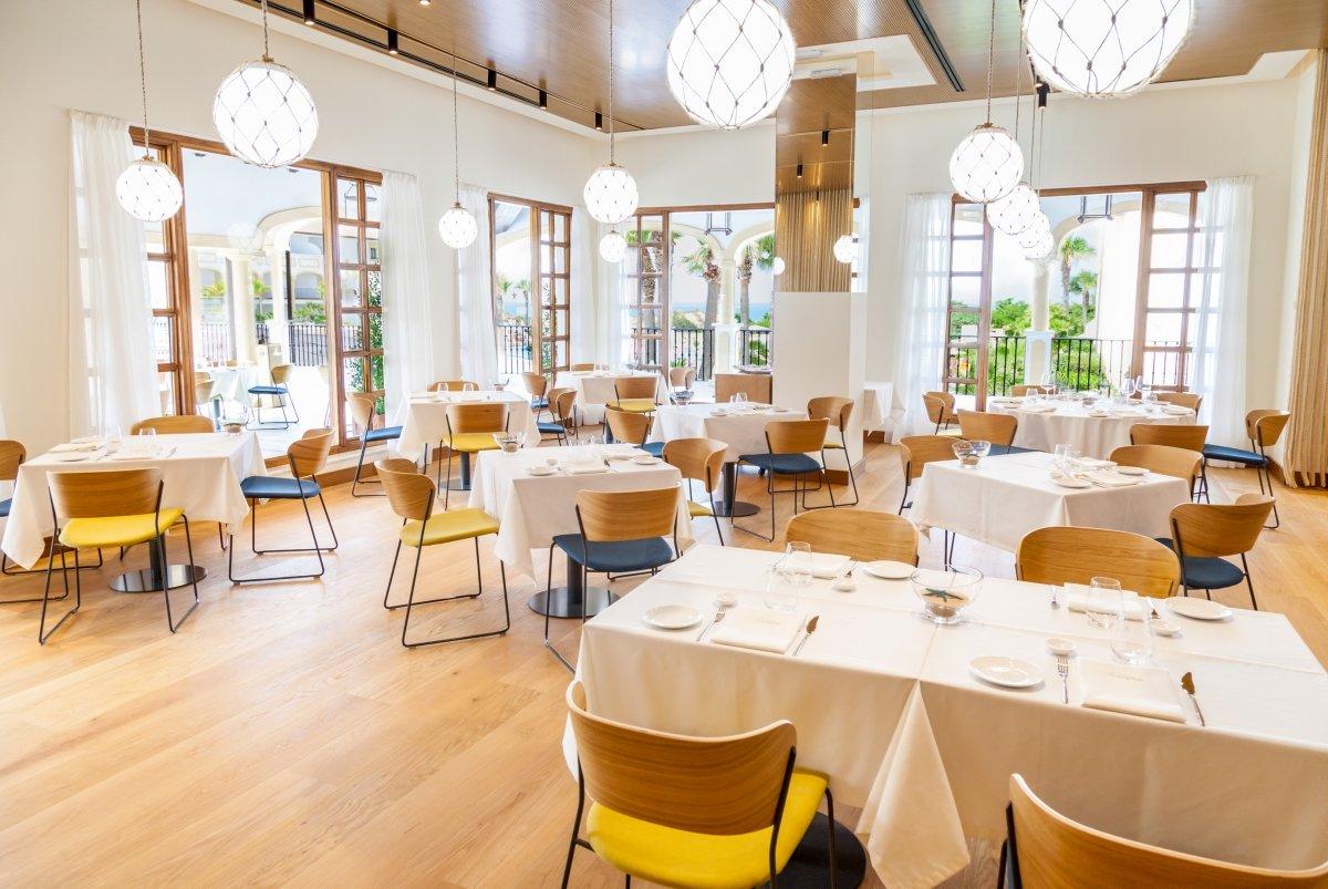 Sala del restaurante Cataria
