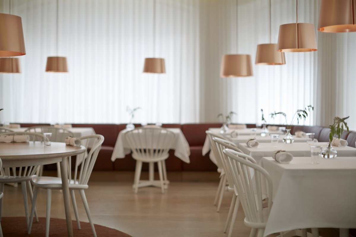 Sala del restaurante Gastrologik