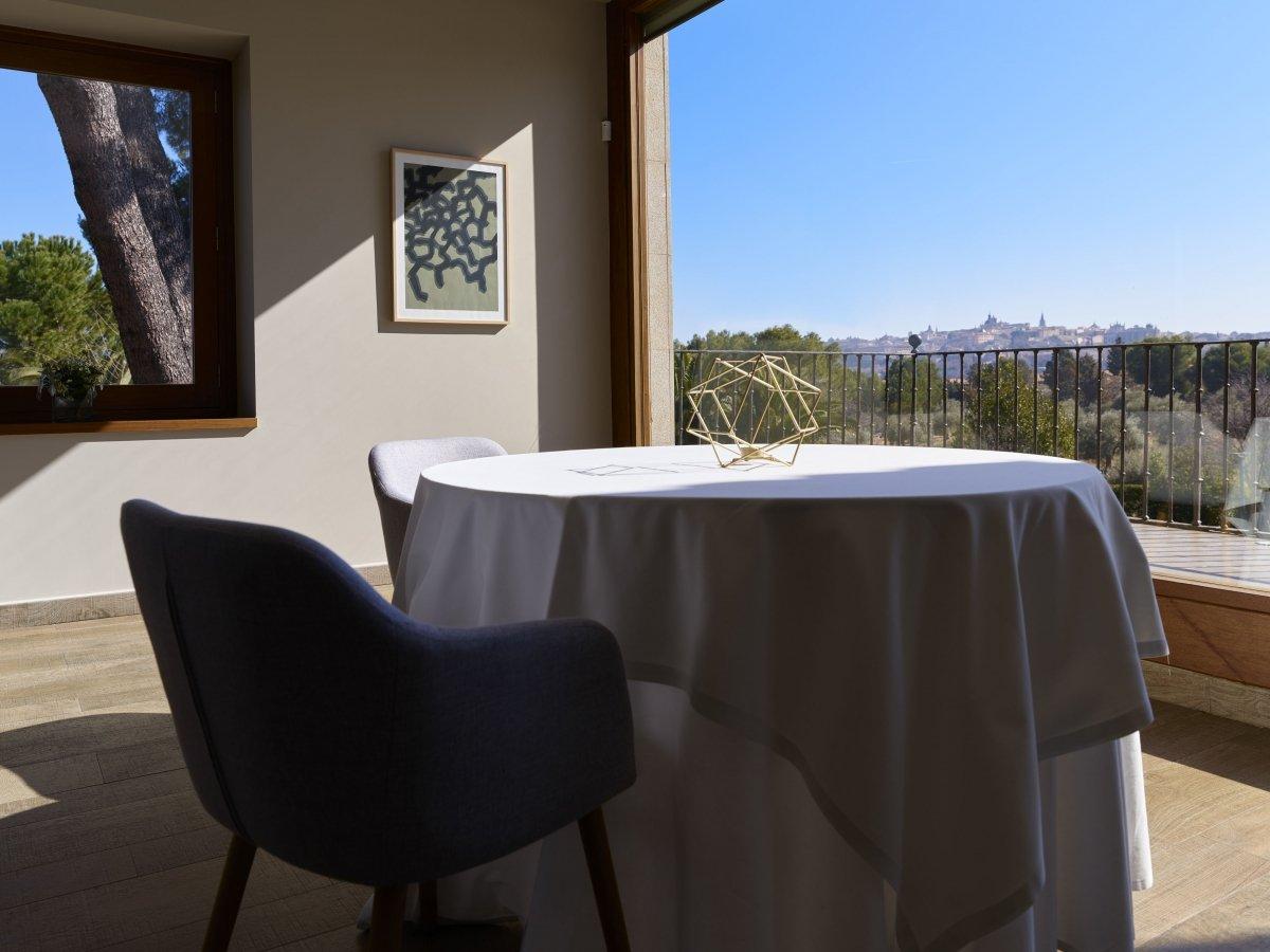 Sala del restaurante Iván Cerdeño