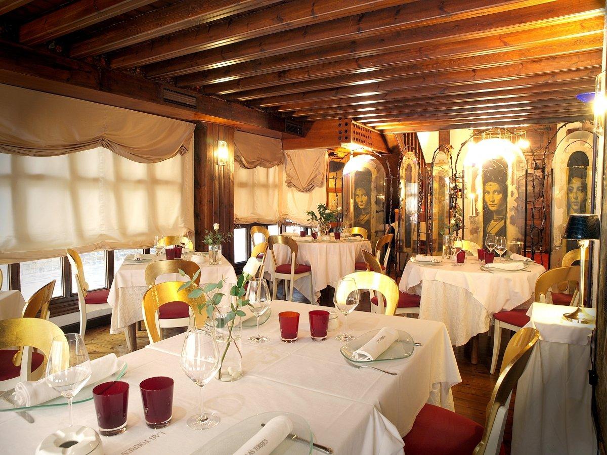 Sala del restaurante Las Torres