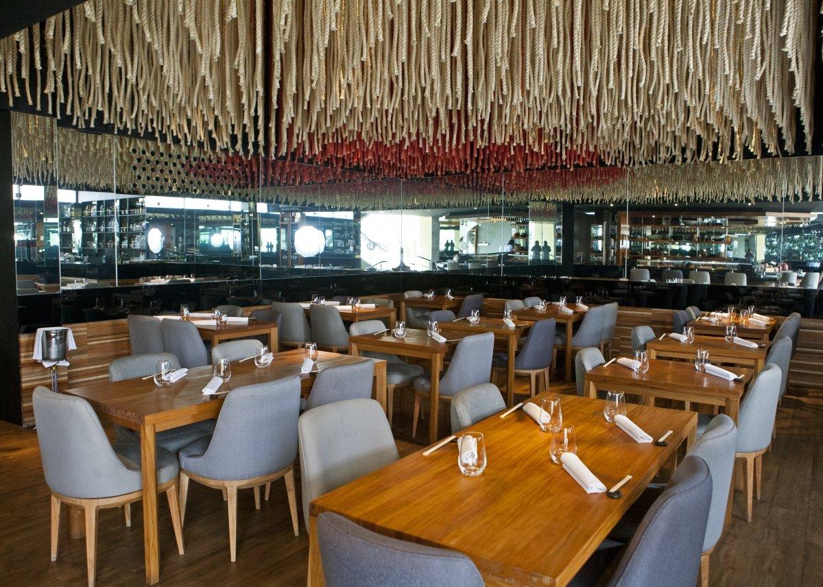 Sala del restaurante Maido