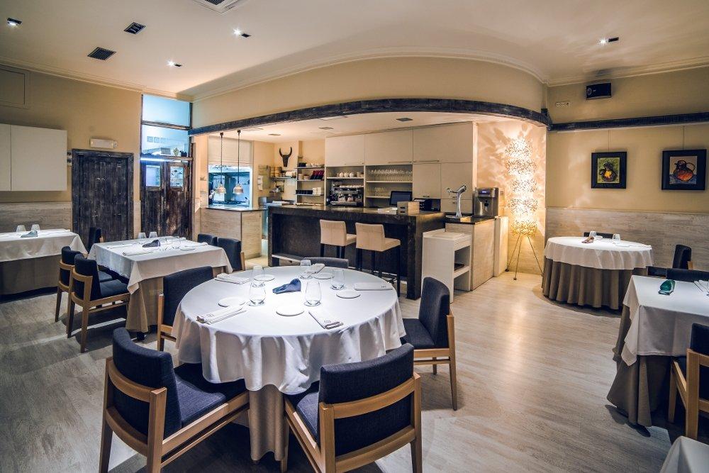 Sala del restaurante Nova