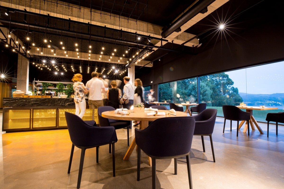 Sala del restaurante Pepe Vieira Camiño da Serpe