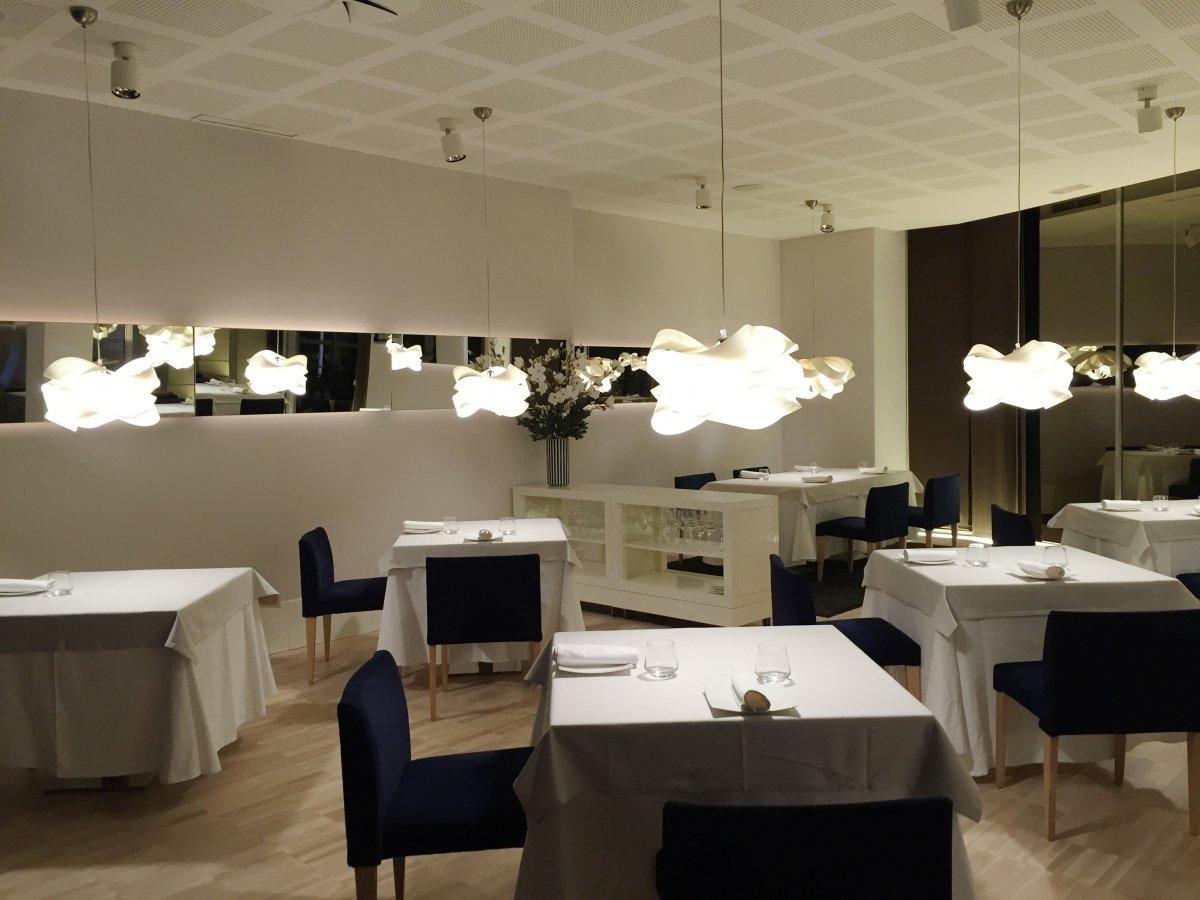 Sala del restaurante Sents