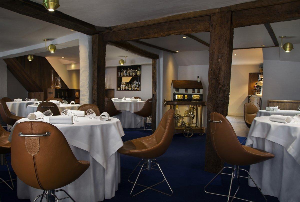 Sala del restaurante The Fat Duck