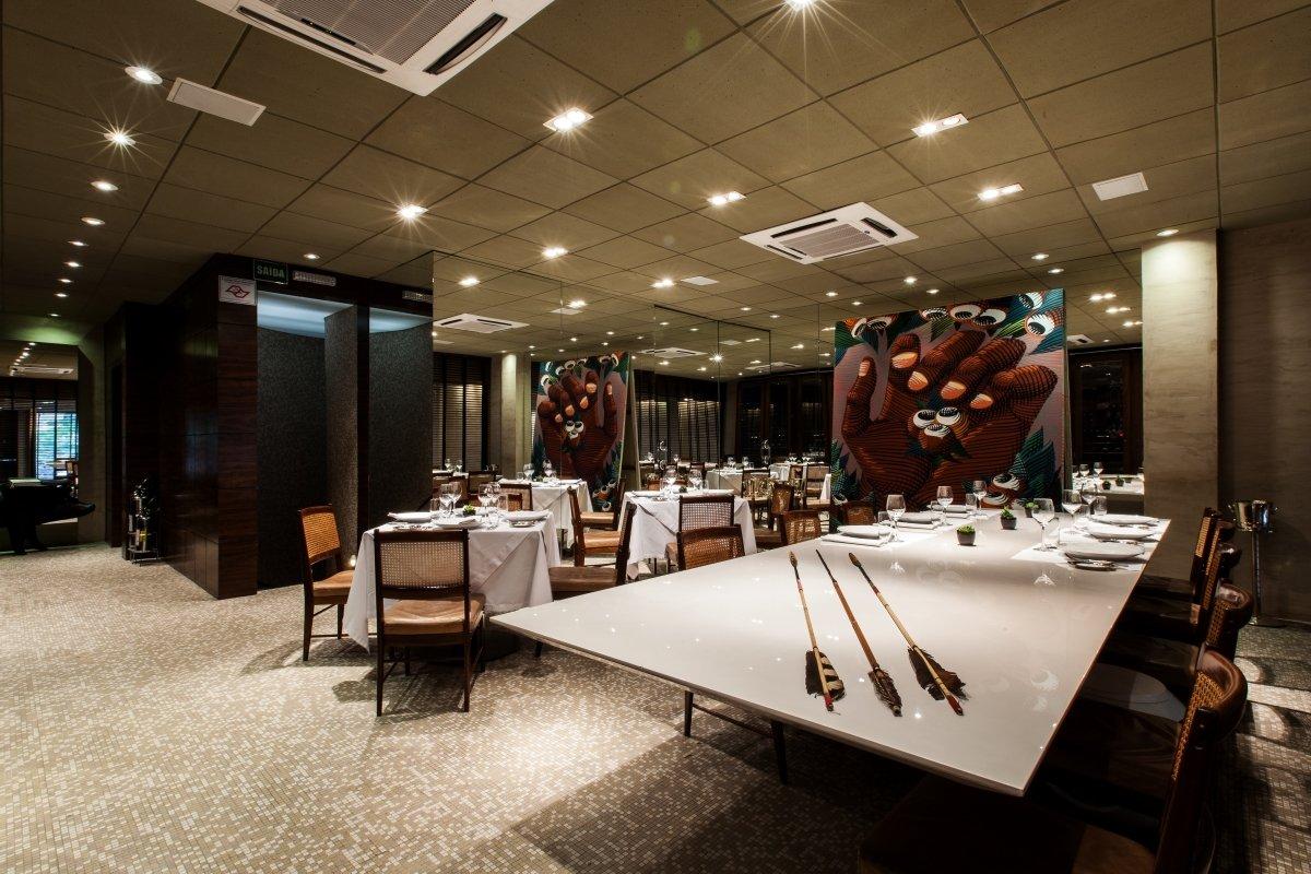 Salón del restaurante D.O.M.