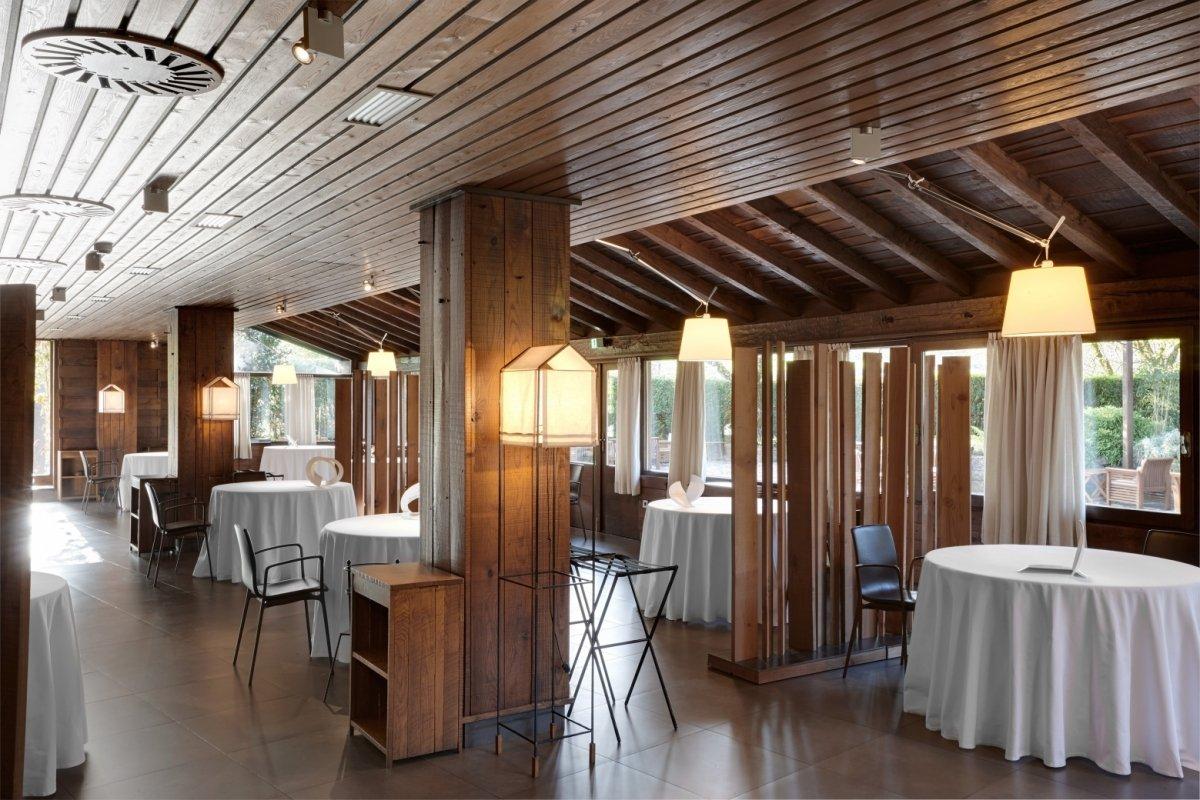 Salón del restaurante Mugaritz