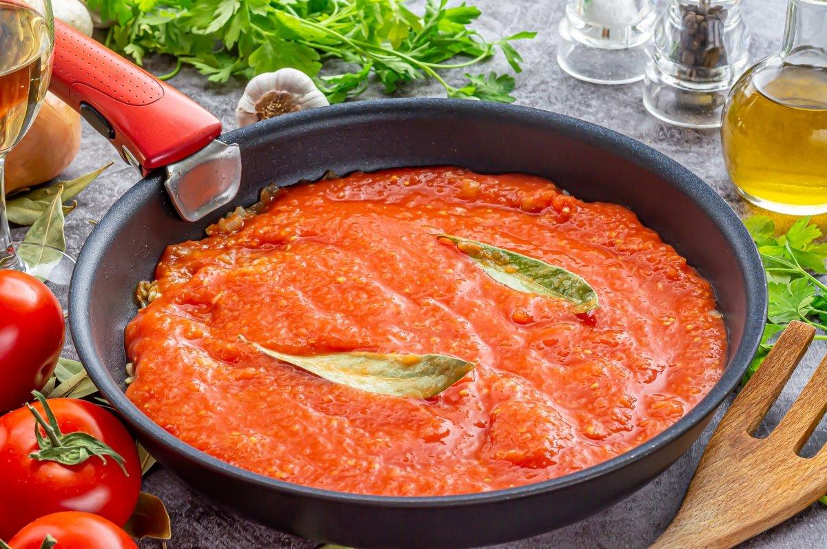 Salsa de tomate para el lomo