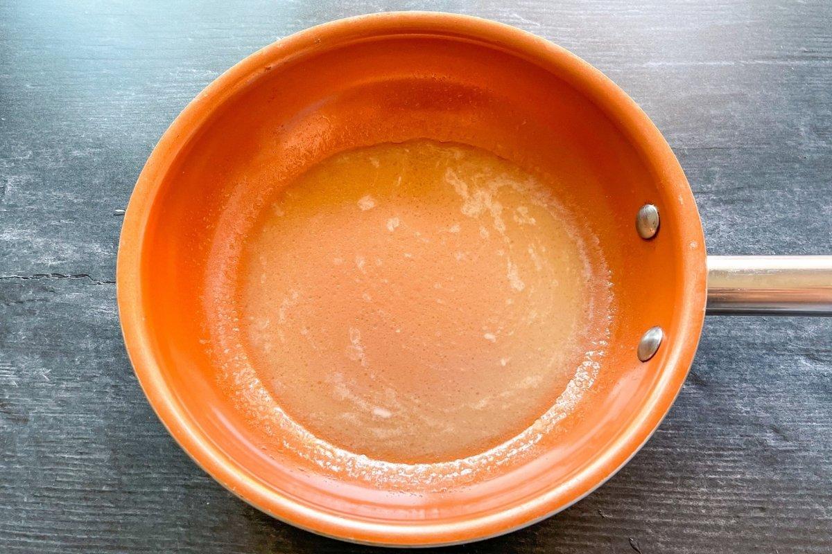 Salsa emulsionando