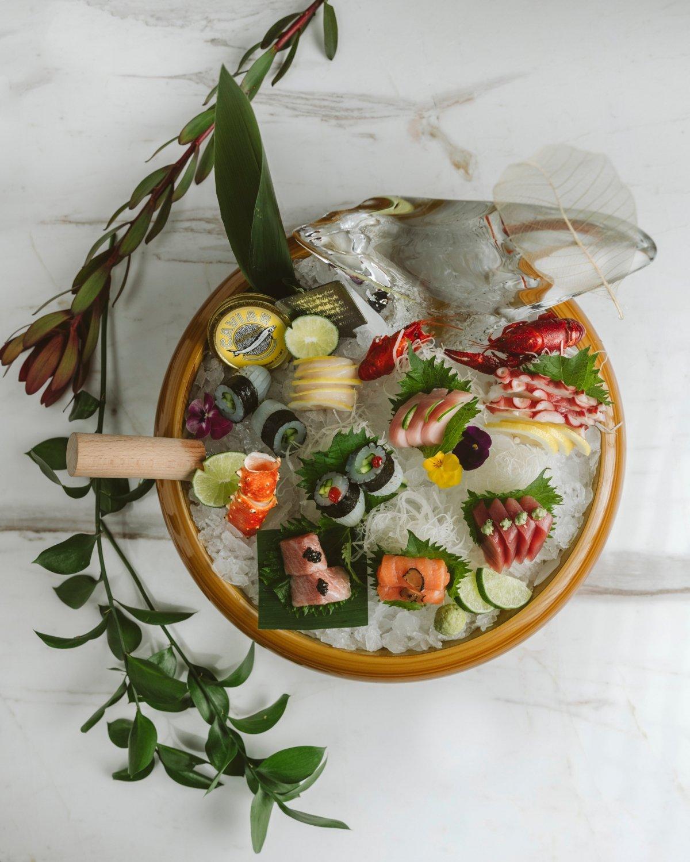 Salvaje, sashimi