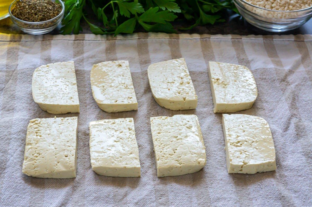 Secar el tofu