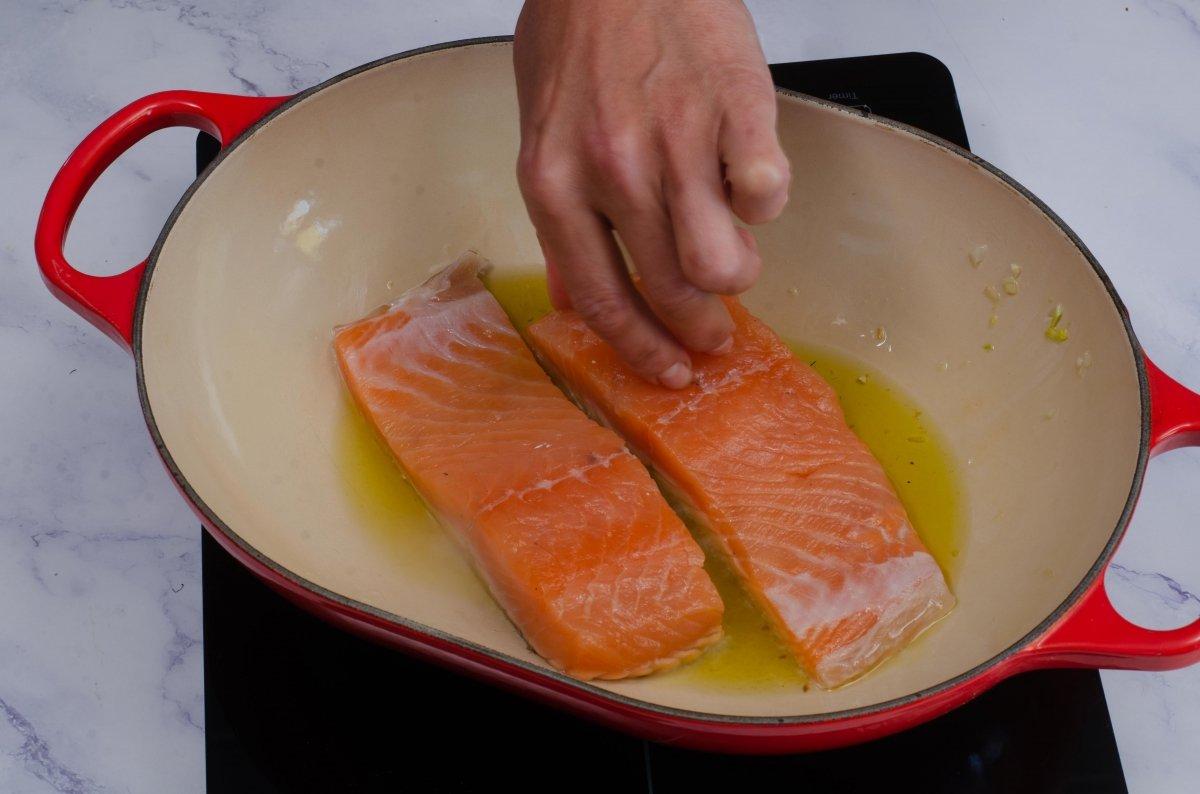Sellamos el salmón