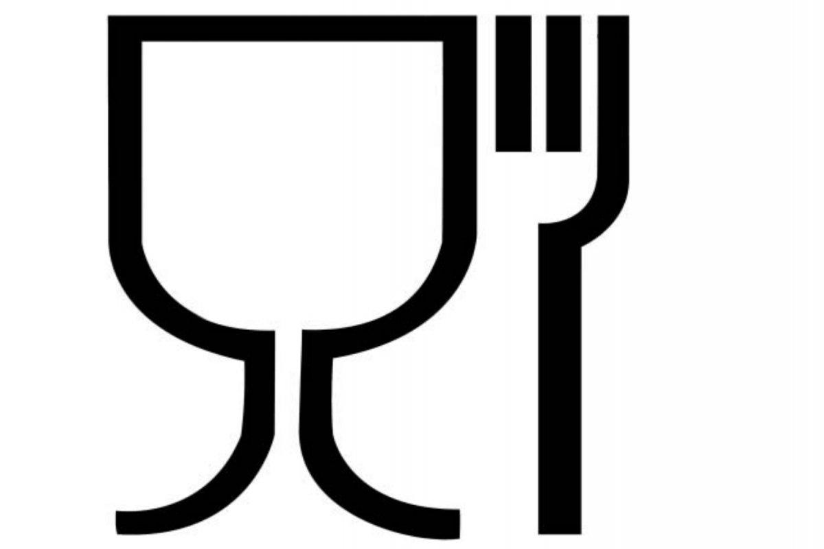 Símbolo de aptitud alimentaria publicado en el Reglamento (CE) 1935-2004
