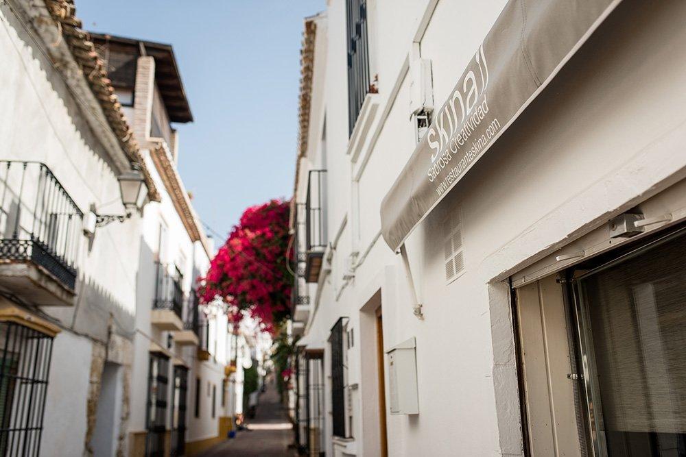 Skina, el paisaje andaluz esbozado en Marbella