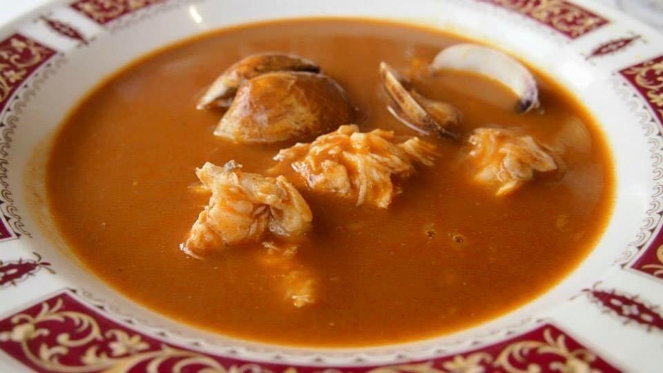 Sopa de pescado del restaurante Kaia-Kaipe