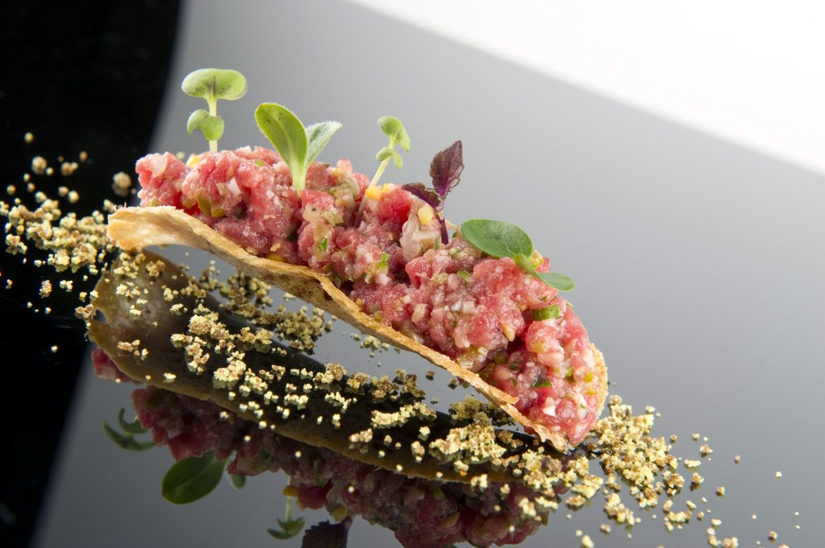Steak tartar de Zaldiaran
