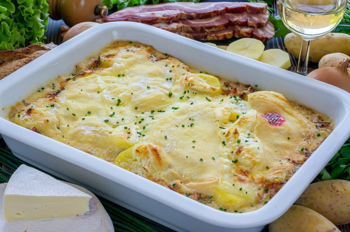 Tartiflette (Patatas con queso a la francesa)