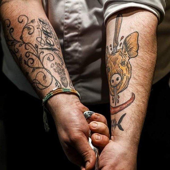 Tatuajes de Pablo Pizarro
