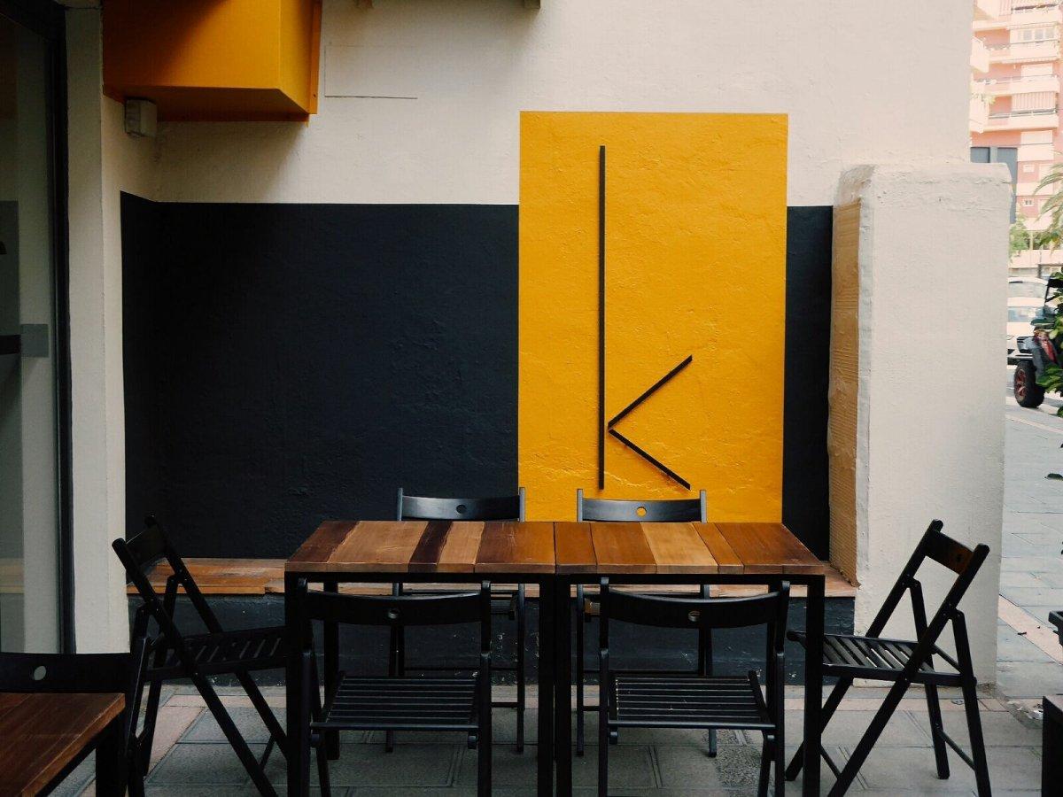 Terraza del restaurante KAVA