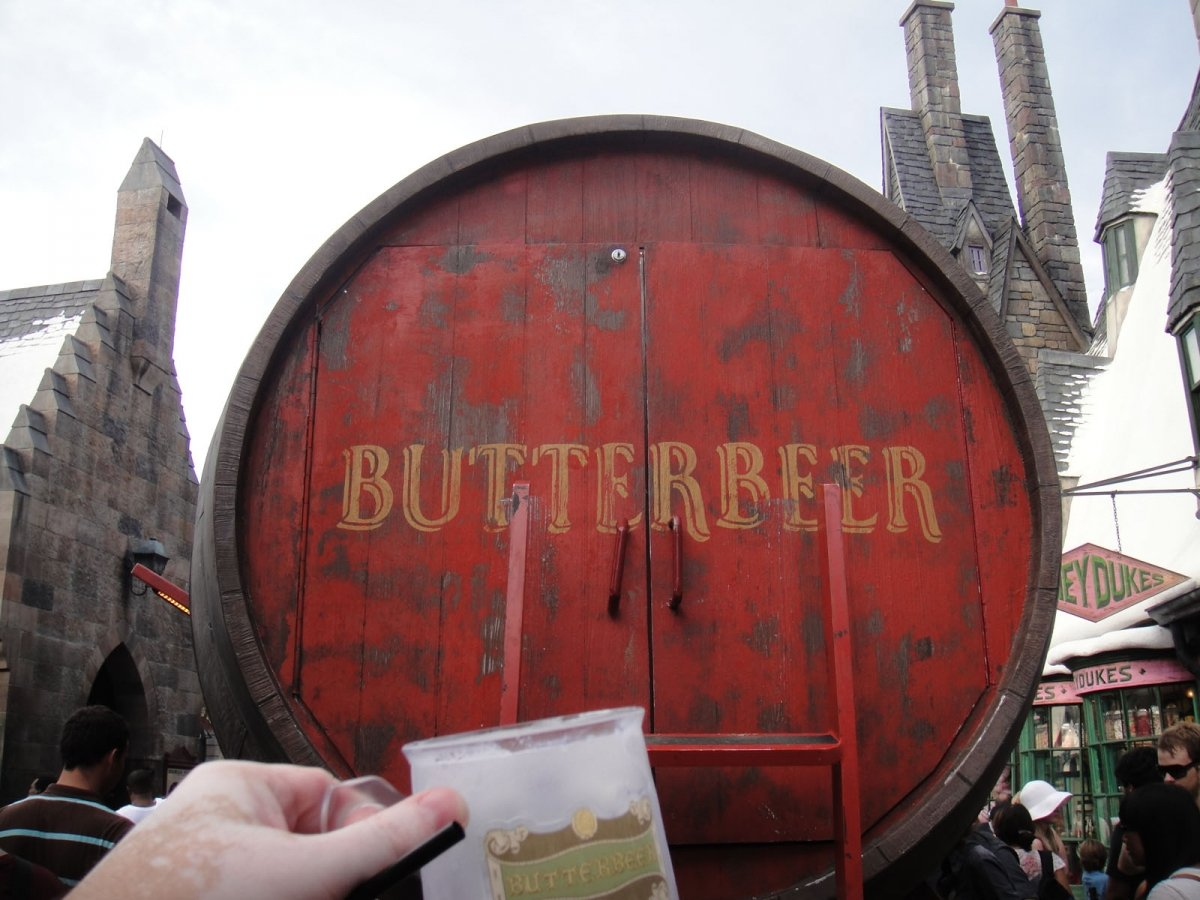 Toneles de cerveza de mantequilla