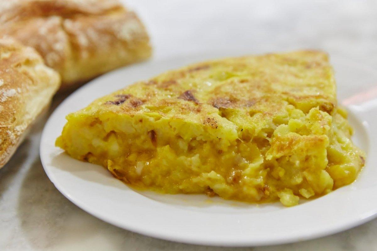 Tortilla de patatas Casa Dani