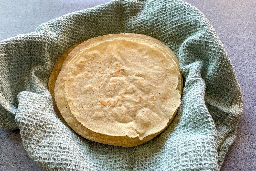 Tortillas mexicanas de maíz / Tortillas de maíz