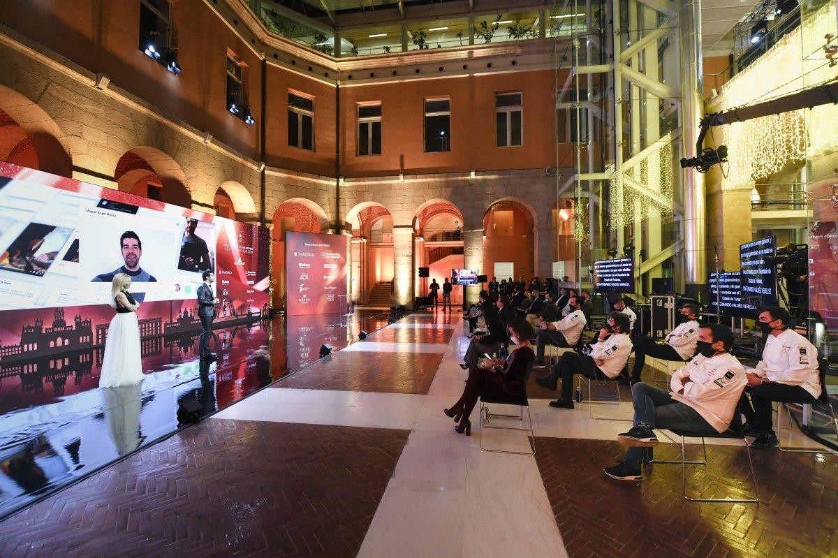 Un momento de la gala Michelin 2021