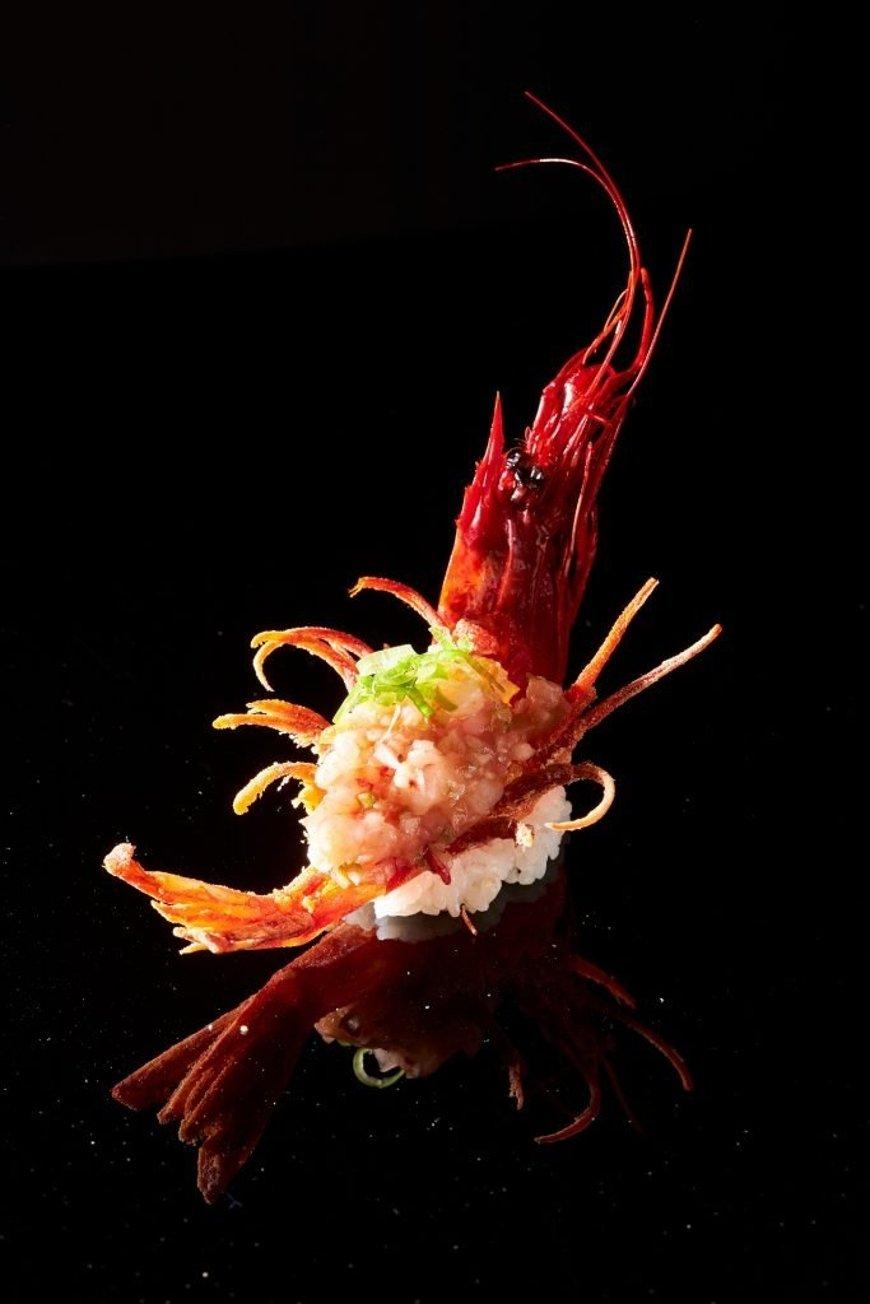 Un plato con marisco de Óvera