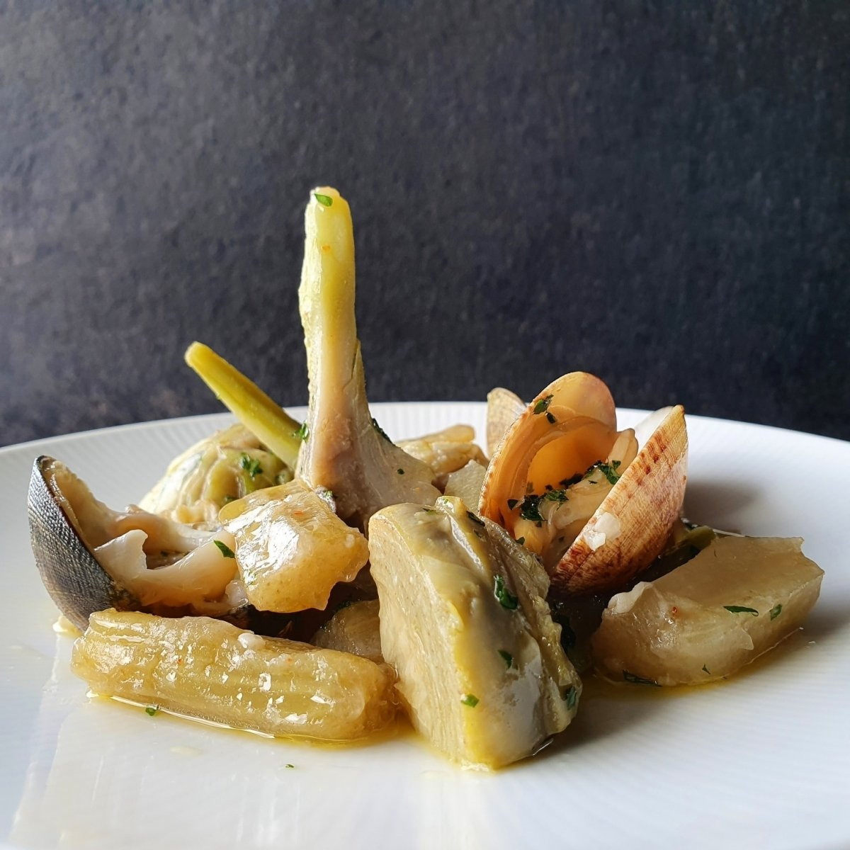 Un plato de Bokado