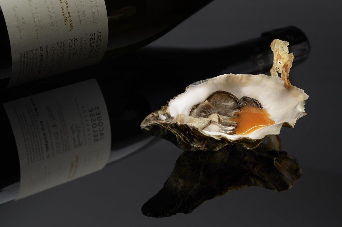 Un plato de ostra de Ambvivium