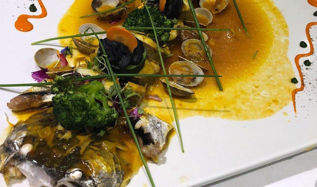 Un plato de pescado de El Churra