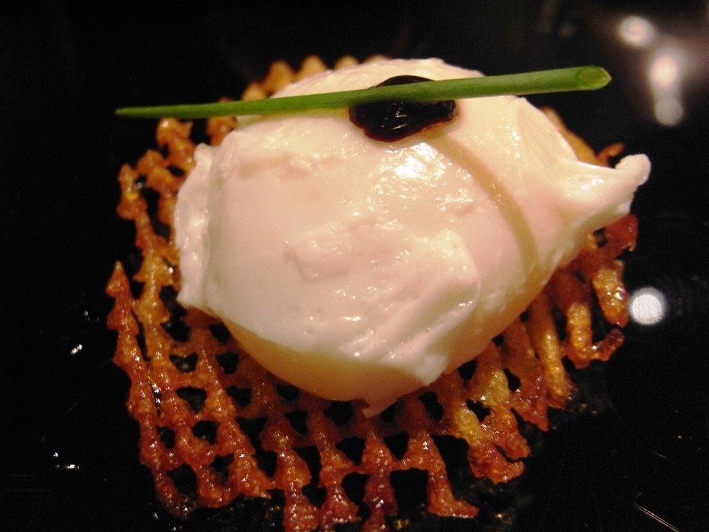 Un plato del restaurante El Racó de Can Fabes