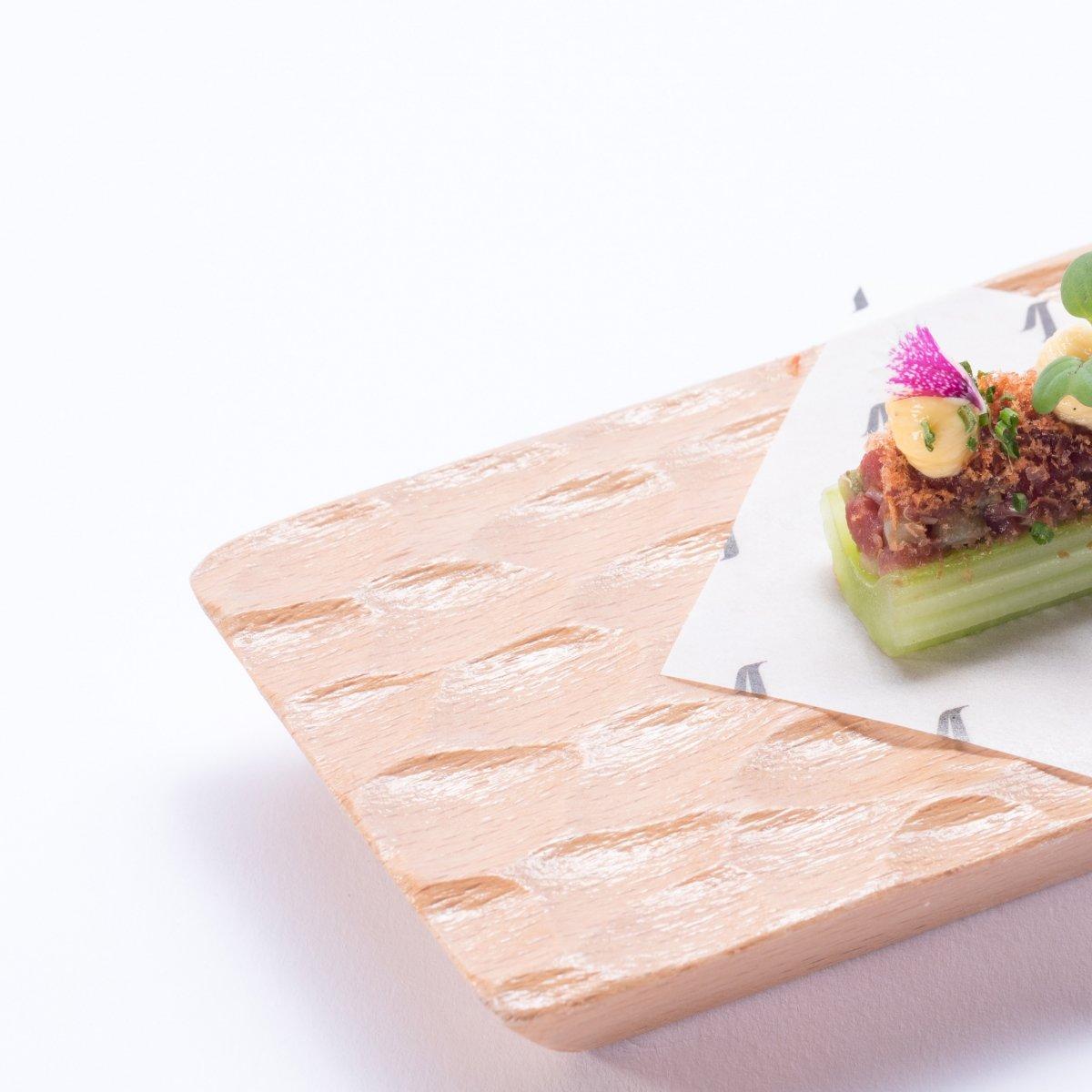 Un plato sosegado de Voro Park Hyatt Mallorca