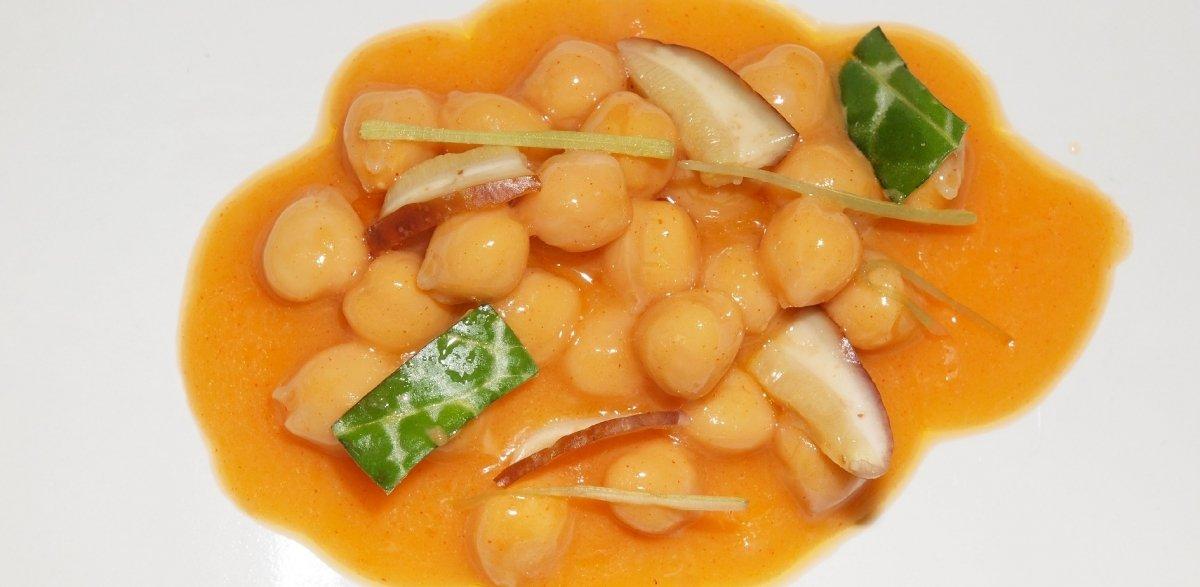 Un plato vegetal de La Botica de Matapozuelos