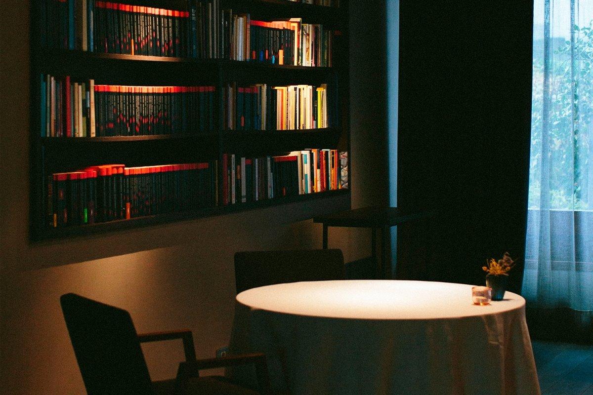 Un rincón de La Biblioteca