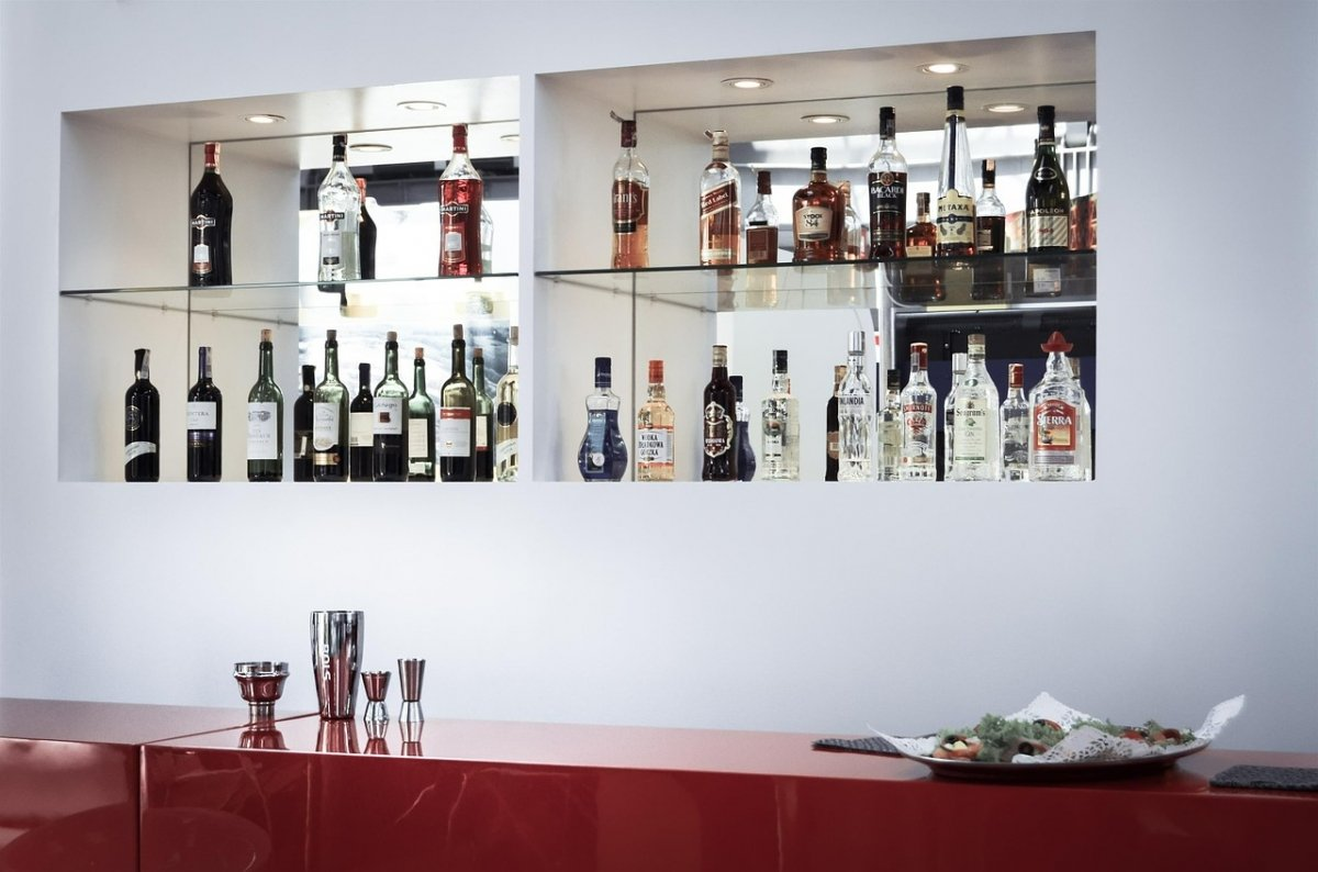 Una barra dedicada a la coctelería