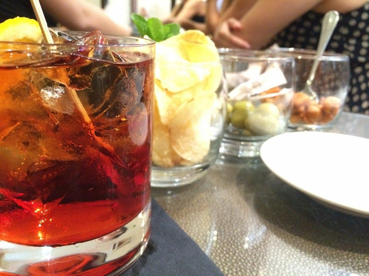 Una bebida alcohólica bien servida