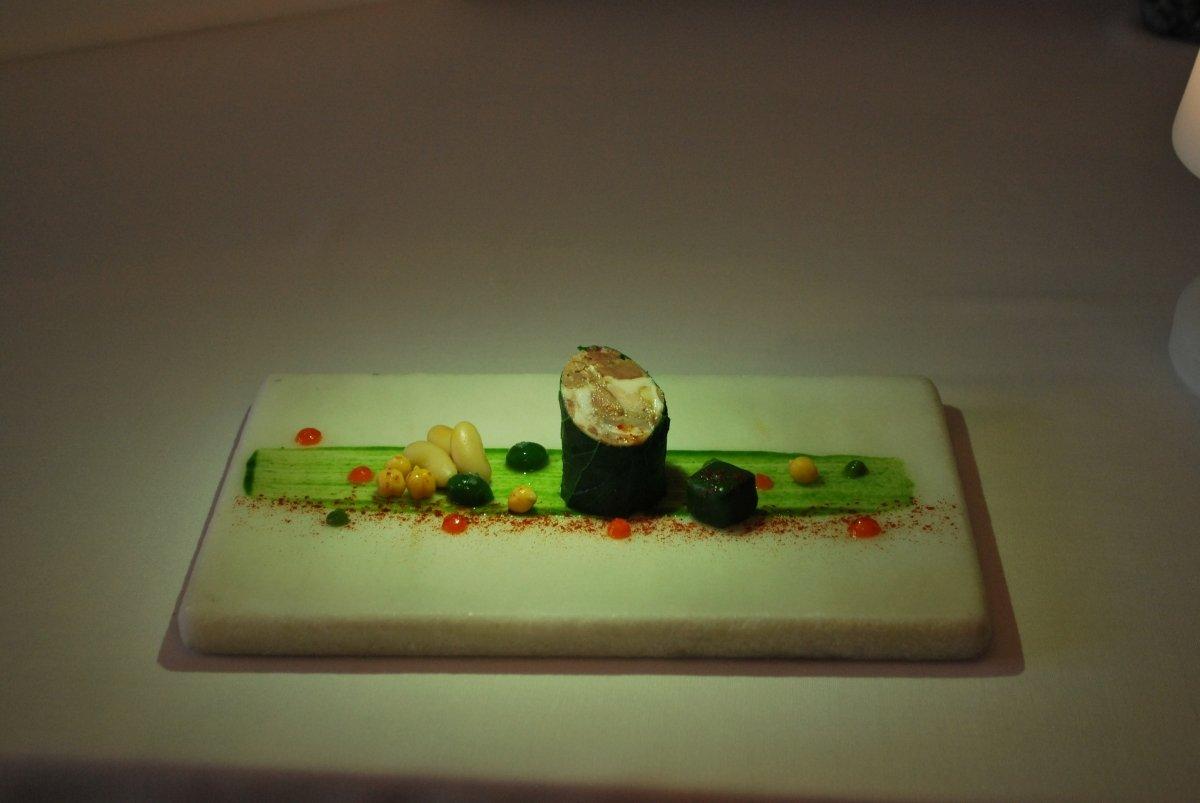 Una de las presentaciones más destacadas del restaurante Yayo Daporta