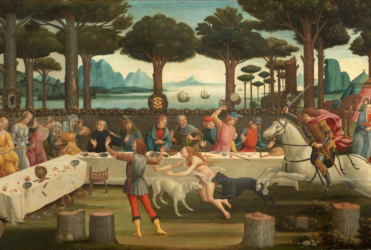 Una obra 'gastro' de Sandro Botticelli