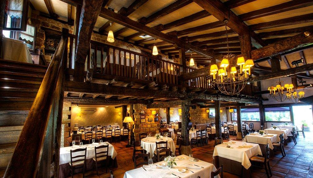 Una sala del restaurante Boroa