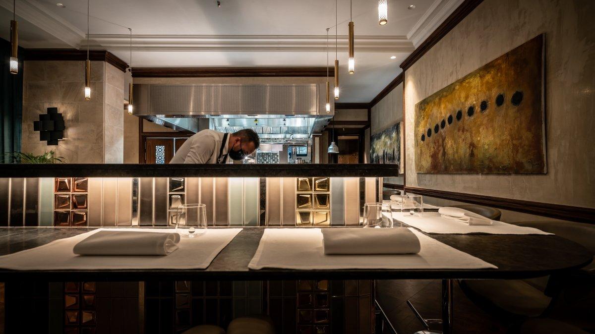Una vista a la cocina de DINS