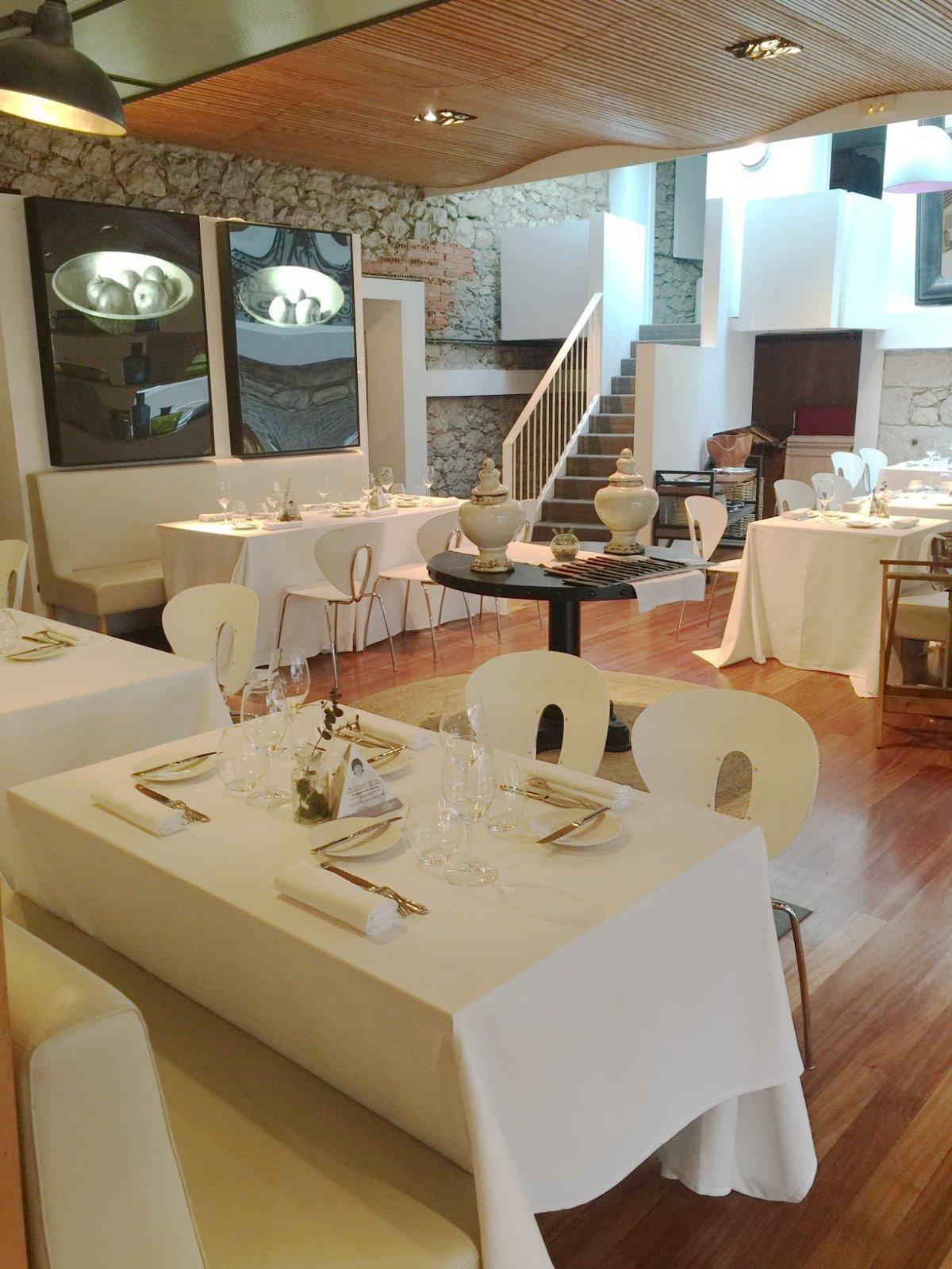 Uno de los espacios del restaurante la Casona del Judío